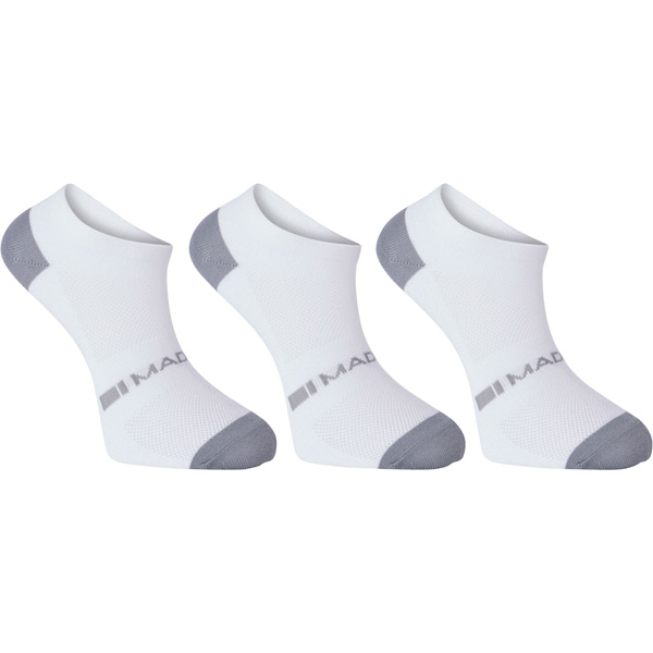 white black small Madison Sportive men/'s low sock twin pack